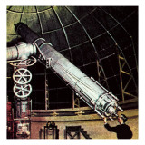 Giant Telescope Giclee Print by  McConnell