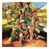 Rogers' Rangers Giclee Print by Ron Embleton