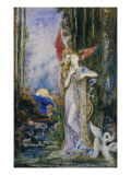 The Inspiration Giclee Print by  Moreau