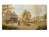 An October Day Giclee Print by Edward Lamson Henry