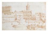 Old St. Peter's Giclee Print by Maerten van Heemskerck