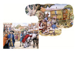 Gypsies Giclee Print by Pat Nicolle