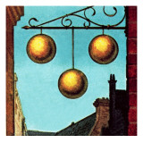 Pawnbrokers' Sign Giclee Print by English School