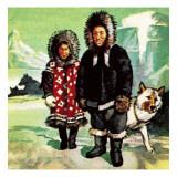 Eskimoes Lámina giclée por  McConnell