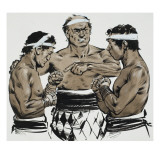 Boxing Giclee Print by Mcbride 