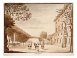 Villa Medici, 1833 Giclee Print by Agostino Tofanelli