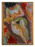 Female Nude Giclee Print by Ernst Ludwig Kirchner