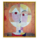 Senecio, 1922 Reproduction procédé giclée par Paul Klee