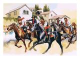 Cavalcata Sarda Giclee Print by Ron Embleton
