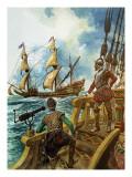 Sir Francis Drake Giclee Print by Peter Jackson