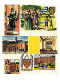 Gray's Inn Giclee Print by  Escott