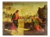 Noli Me Tangere Giclee Print by Dosso Dossi