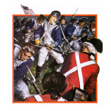 Deborah Sampson Giclee Print by Clive Uptton