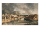 Morpeth Bridge Giclee Print by Thomas Girtin