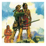 Davy Crockett Giclee Print by  English School