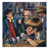 Oliver Twist Giclee Print by  English School