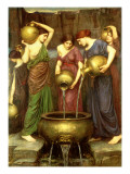 Danaides, 1904 Giclee Print by John William Waterhouse