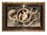 Idylle, 1884 Giclee Print by Gustav Klimt