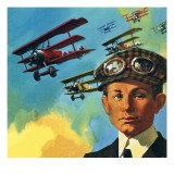 Anthony Fokker, Giclee Print