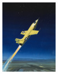 The Bell X-1 Giclee Print by Wilf Hardy