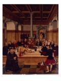 La última cena Lámina giclée por Lucas Cranach the Elder