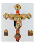 Crucifix Gicle-tryk af Bernardo Daddi