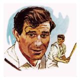 Freddie Trueman Giclee-trykk av  English School