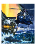 The Sub Killer Giclee Print by Wilf Hardy