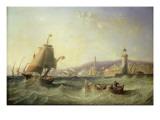 Genoa, 1862 Giclee Print by John Wilson Carmichael