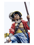 Sir Henry Morgan Giclee Print by Ron Embleton