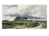 A Heath Scene Giclee Print by Thomas Collier