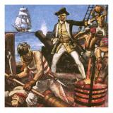 Hornblower Giclee Print by John Millar Watt