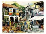 Pompei Giclee Print by Ron Embleton