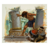 Samson Giclee Print by Andrew Howat
