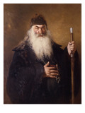 Protodiakon Giclee Print by Ilya Efimovich Repin