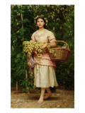 The Hop Picker Giclee Print by  Perugini