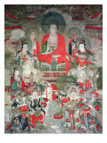 Buddhas, 1675 Reproduction proc&#233;d&#233; gicl&#233;e par Chinese School 