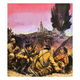 Spanish Civil War Giclee Print by Graham Coton