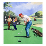 Golf, 1968 Giclee Print by English School