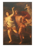 Daphne and Apollo Giclee Print by Elisabetta Sirani