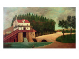 The Watermill Giclee Print by Henri Emilien Rousseau