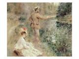 The Fisherman Giclée-tryk af Pierre-Auguste Renoir