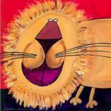Løven Posters af Carla Daly