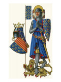 The Saintly Knight Giclee Print by  Escott