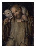 The Good Shepherd Giclee Print by Lucas Cranach the Elder