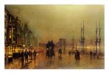 Glasgow Giclee Print by  Grimshaw