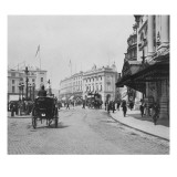 Piccadilly Circus Giclee Print by  English Photographer