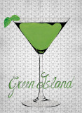 Green Island Prints by Mercier 