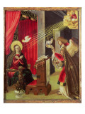 The Annunciation Giclee Print by Hans Burgkmair