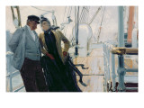 On Deck Giclee Print by Louis Anet Sabatier